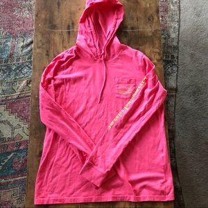 Vineyard Vines Hooded Long Sleeve T-shirt